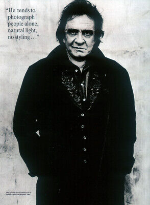 Johnny Cash Poster Page . Q41 • 5.99£