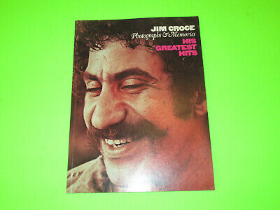 Vintage 1974 Jim Croce His Greatest Hits Songbook Guitar Vocal   • 11.81£