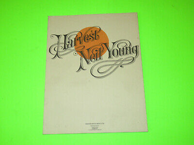 Vintage 1972 Neil Young Harvest Songbook Guitar Vocal   • 11.81£