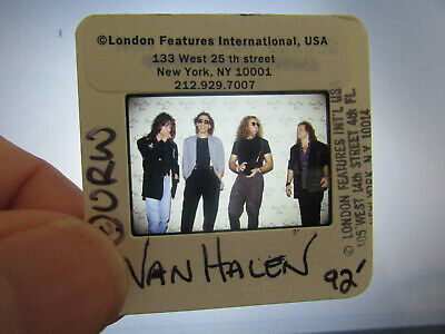Original Press Photo Slide Negative - Van Halen - 1992 - A • 25.99£