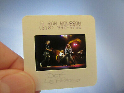 Original Press Photo Slide Negative - Def Leppard - 1980's - B • 21.99£