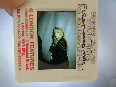 Original Press Photo Slide Negative - Fleetwood Mac - Stevie Nicks - 1998 - H • 31.99£