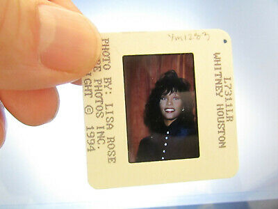 Original Press Photo Slide Negative - Whitney Houston - 1994 - B • 21.99£