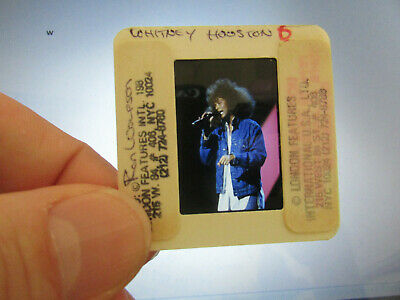 Original Press Photo Slide Negative - Whitney Houston - 1980's - A • 21.99£