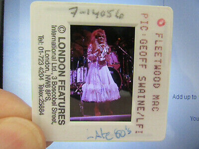 Original Press Photo Slide Negative - Fleetwood Mac - Stevie Nicks - 1980's - J • 31.99£