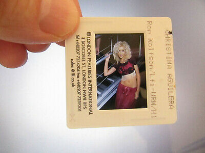 Original Press Photo Slide Negative - Christina Aguilera - 1999 - F • 21.99£
