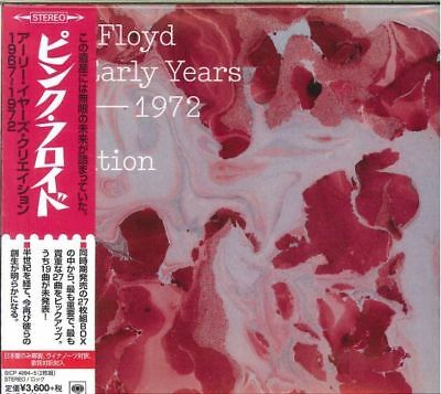 Pink Floyd-the Early Years - Cre/ation-japan 2 Cd I45 • 34.50£