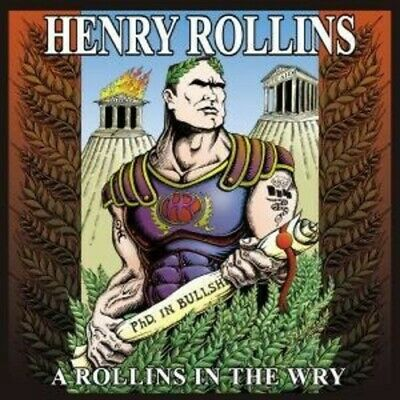 Henry Rollins - A Rollins In The Wry CD NEW • 16.58£