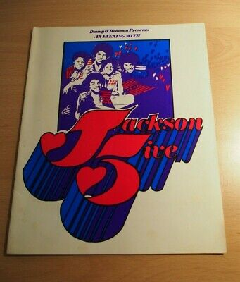 Jackson 5 Five London Tour Programme  • 290£