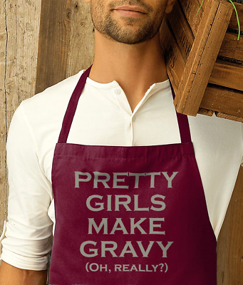 The Smiths - PRETTY GIRLS MAKE GRAVY (OH REALLY?) - Apron - MORRISSEY • 20.99£