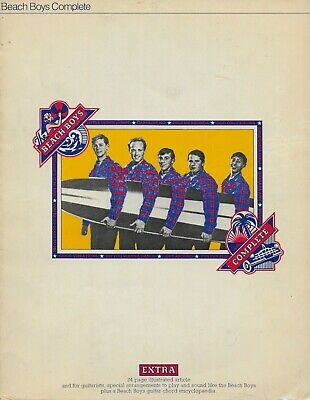 THE BEACH BOYS  Complete  Rare Sheet Music Songbook From 1973 • 19.30£