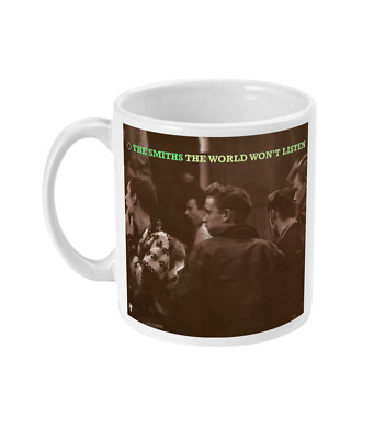 THE SMITHS - THE WORLD WON'T LISTEN  - Mug - Morrissey • 9.99£