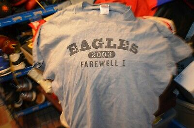 The Eagles Farewell Tour 2003 T-Shirt -  Extra Large (XL) • 6.95£