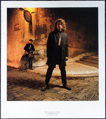 Inxs Michael Hutchence Poster Page . Kick Need You Tonight Suicide Blonde . T93 • 9.99£