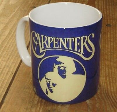 The Carpenters Promotion Advertising Mug Blue • 8.99£