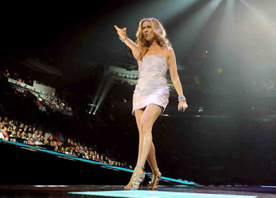 Celine Dion Full Colour Live On Stage 10x8 Photo #1 • 5.99£
