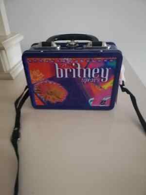 Britney Spears Tin Lunch Box  Official Trend Merchandise. • 19.95£