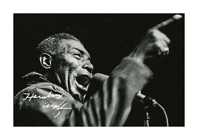 Howlin Wolf 1 A4 Reproduction Autograph Photograph Poster With Choice Of Frame • 6.95£