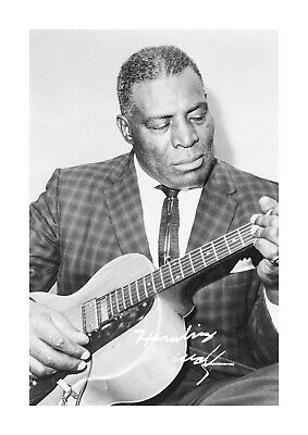 Howlin Wolf 2 A4 Reproduction Autograph Photograph Poster With Choice Of Frame • 6.95£