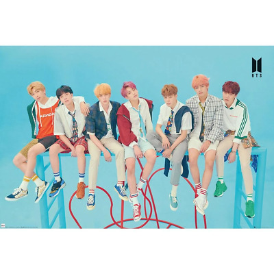 BTS Poster Blue | OFFICIAL • 7.40£
