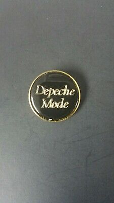 Depeche Mode Logo Insert Metal Pin Badge 1 Inch • 5.56£