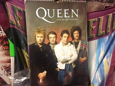 Calendar Queen 2020 Official A3 Freddie Mercury Band Wall Hanging Decoration • 10£