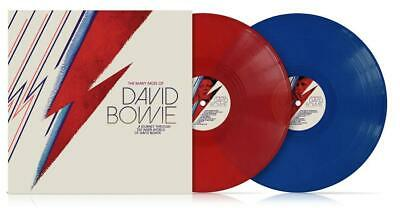 David Bowie  The Many Faces Of  2 X Red / Blue Vinyl Lp - IN STOCK • 16.79£