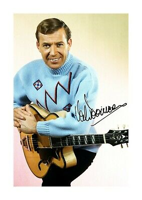 Val Doonican A4 Reproduction Autograph Picture Poster With Choice Of Frame • 27.99£