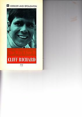 Cliff Richard Hand Signed Book • 39.99£