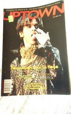 Prince Uptown  Magazine   Issue #  36 Great Condition • 28.99£
