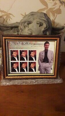 Cliff Richard Stamps Mounted New  • 24.99£