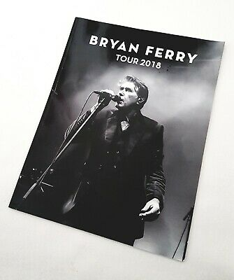 Bryan Ferry Uk Tour Programme 2018 • 25£