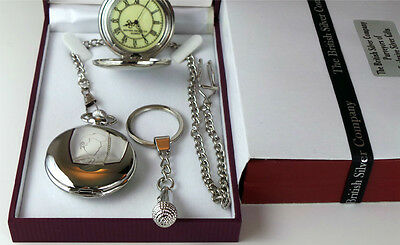 Morrissey Signed Pocket Watch & Silver Microphone Keyring Luxury Set The Smiths • 29.95£