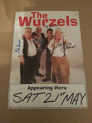 The Wurrzels - Halfmoon Paignton - Sat 21st May - Signed A3 Poster  • 30£