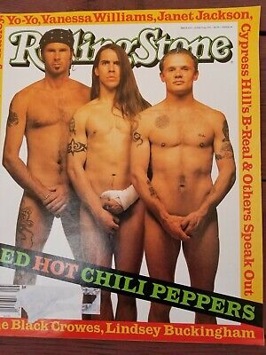 Red Hot Chilli Peppers Cover  Rolling Stone Magazine  • 15.96£