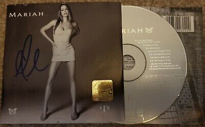 Mariah Carey #1s Signed Cd Rare • 60£