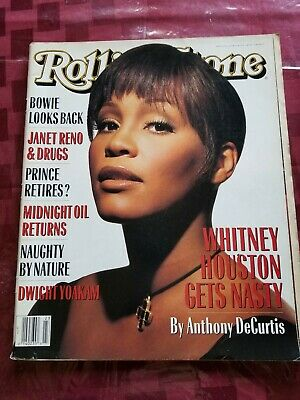 Whitney Houston Cover Rolling Stone Mag 93 • 15.45£