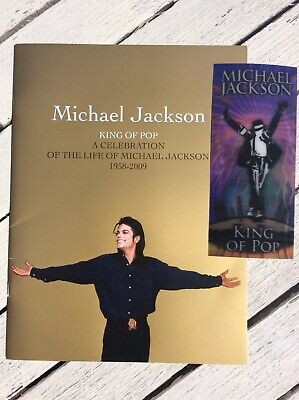 """MUST GO!OFFERS TAKEN Michael Jackson """"This Is It"""" Concert Ticket & Book • 60£"""