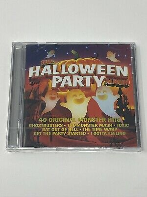 The Halloween Party Album - Cd - Various Artists - New & Sealed • 1.95£