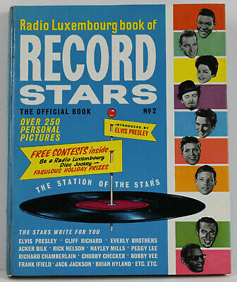 Radio Luxembourg Book Of Record Stars No.2 H/b Book. 1963 • 3.50£