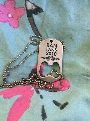 Miranda Lambert Ran Fans Fan Club Bottler Opened Chain Necklace 2010 • 12£