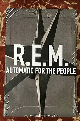 R.E.M.  Automatic For The People  Rare Original Promotional Poster  REM • 11.90£