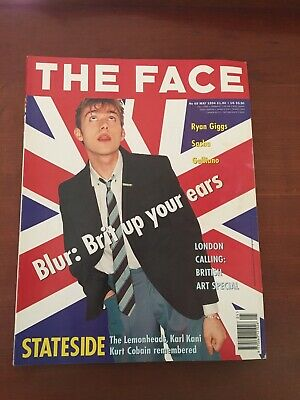 The Face Magazine Issue 68 May 1994 - Damon Albarn / Blur Cover • 16£