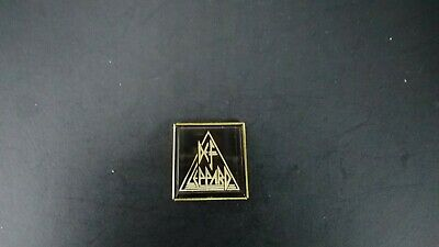 DEF LEPPARD Vintage Logo Pin 80s New Old Stock • 7.36£