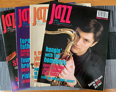 Jazz The Magazine - An Observer Publication 1993 (4 Magazines) • 8£