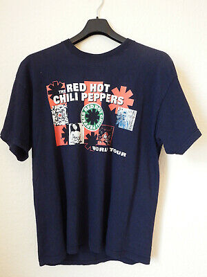 RED HOT CHILI PEPPERS Short Sleeve T-Shirt XL 2003 World Tour Vintage RARE!!!  • 30£
