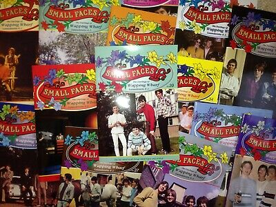 SMALL FACES:Random Pack Of 20 Different Wapping Wharf Glossy Fanzines. Brand New • 13.99£