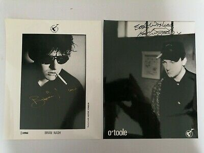 FGTH / FRANKIE GOES TO HOLLYWOOD / NASH / O'TOOLE - 2 X SIGNED PROMO PICTUREs • 29.99£