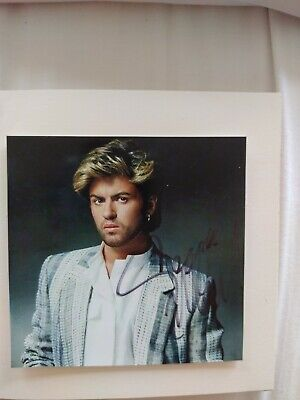 George Michael Signed Autographed Photo • 50£