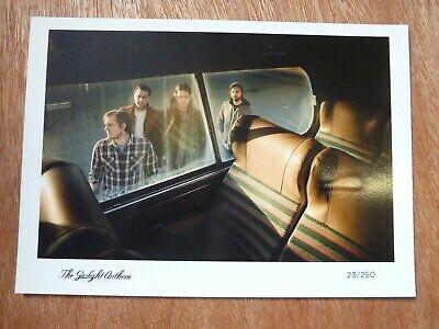 The Gaslight Anthem  Original  Promotional Photo  Numbered A4 New Unused • 8.99£